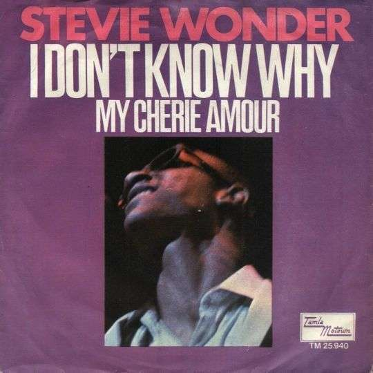 Coverafbeelding My Cherie Amour - Stevie Wonder