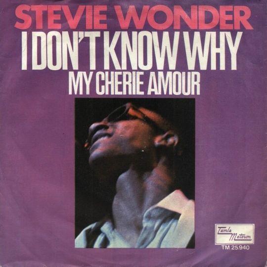 Coverafbeelding Stevie Wonder - My Cherie Amour