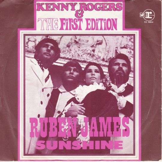 Coverafbeelding Ruben James - Kenny Rogers & The First Edition