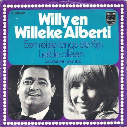 Coverafbeelding Een Reisje Langs De Rijn - Willy En Willeke Alberti
