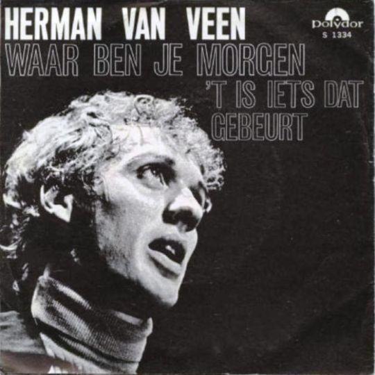 Coverafbeelding Waar Ben Je Morgen - Herman Van Veen