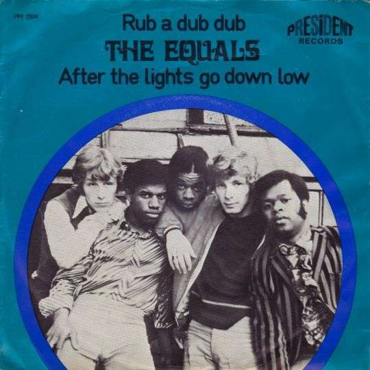Coverafbeelding Rub A Dub Dub - The Equals