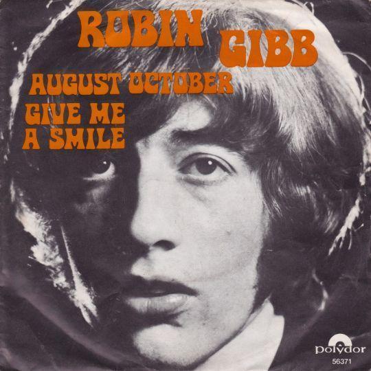 Coverafbeelding August October - Robin Gibb