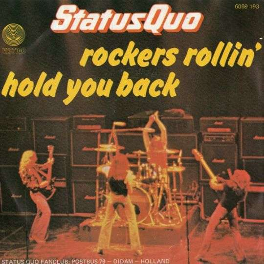 Coverafbeelding Hold You Back - Status Quo