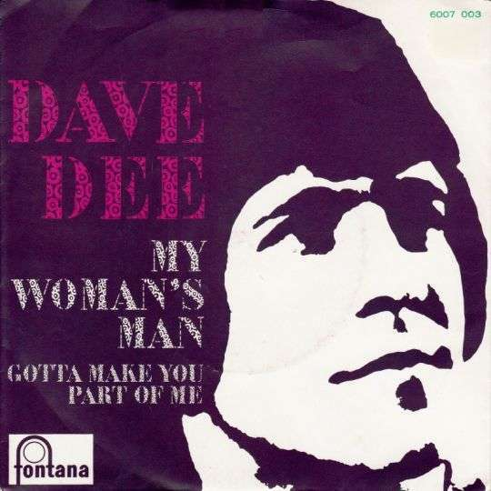 Coverafbeelding Dave Dee - My Woman's Man