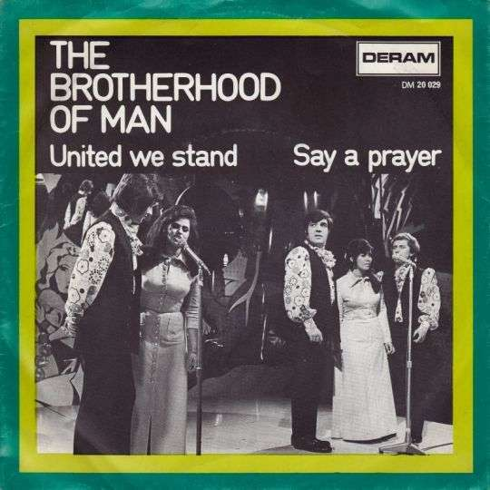 Coverafbeelding United We Stand - The Brotherhood Of Man