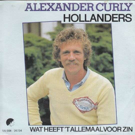 Coverafbeelding Hollanders - Alexander Curly