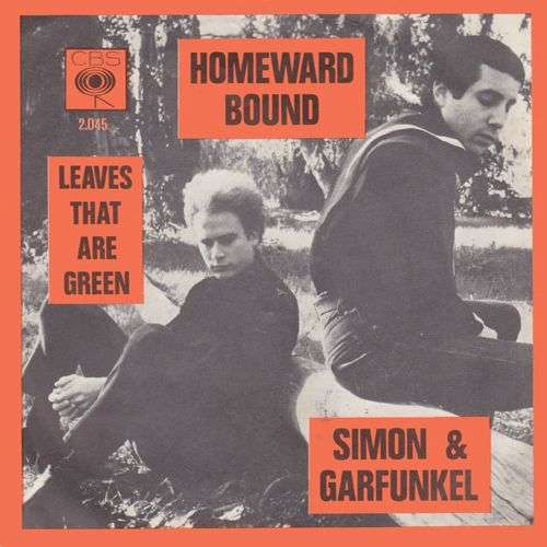 Coverafbeelding Homeward Bound - Simon & Garfunkel