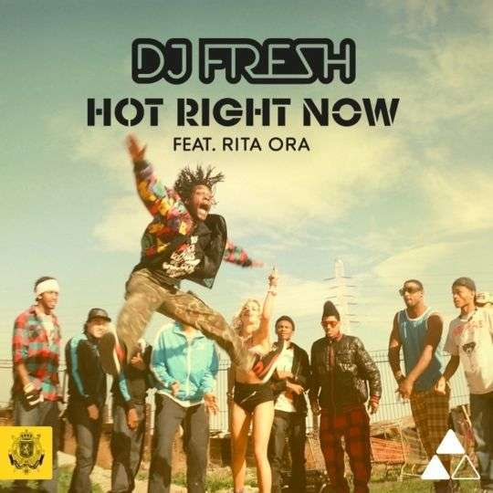 Coverafbeelding DJ Fresh feat. Rita Ora - Hot right now