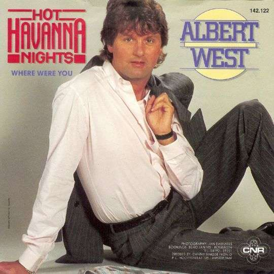 Coverafbeelding Hot Havanna Nights - Albert West
