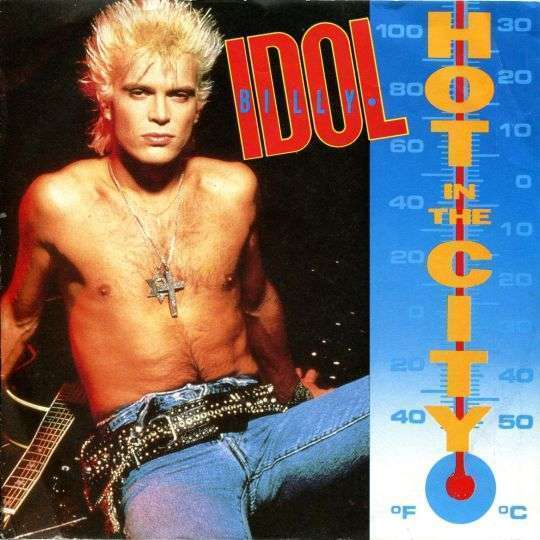 Coverafbeelding Hot In The City - Billy Idol