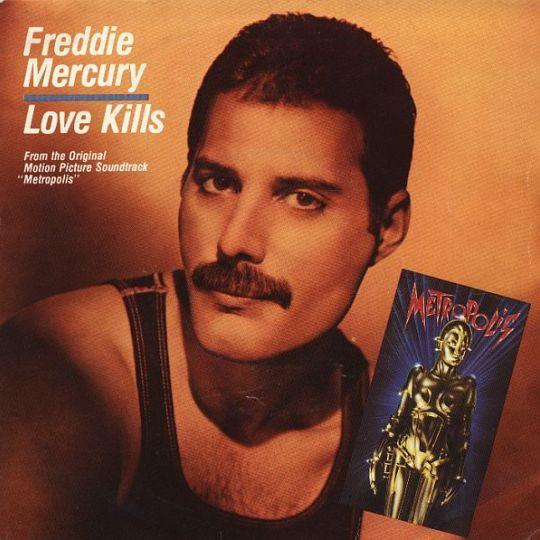 Coverafbeelding Freddie Mercury - Love Kills