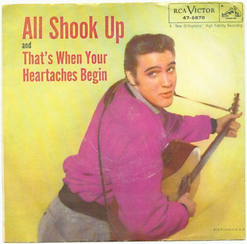Coverafbeelding Elvis Presley - All Shook Up
