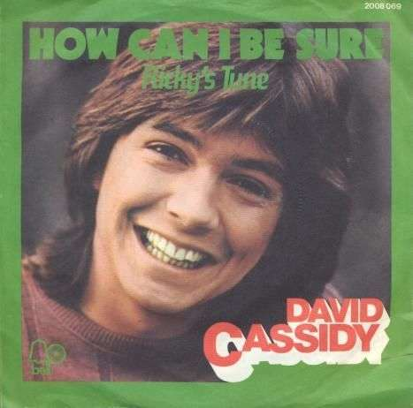 Coverafbeelding How Can I Be Sure - David Cassidy