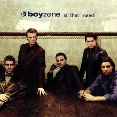 Coverafbeelding All That I Need - Boyzone