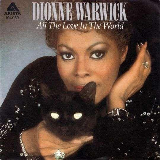 Coverafbeelding All The Love In The World - Dionne Warwick