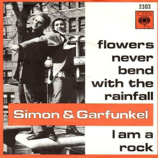 Coverafbeelding I Am A Rock - Simon & Garfunkel