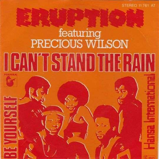 Coverafbeelding Eruption featuring Precious Wilson - I Can't Stand The Rain