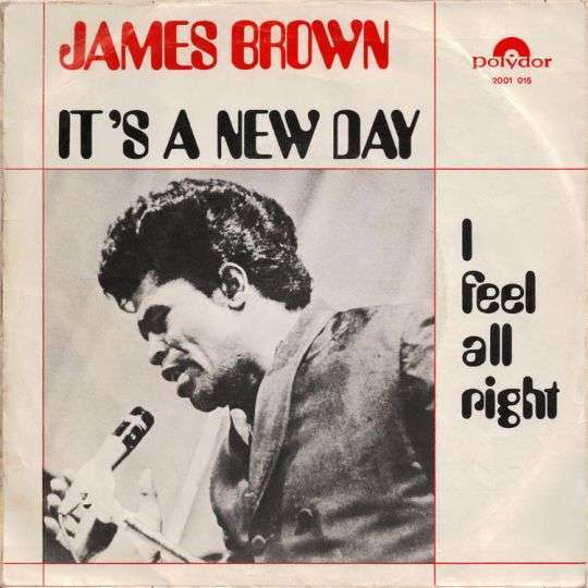 Coverafbeelding I Feel All Right - James Brown