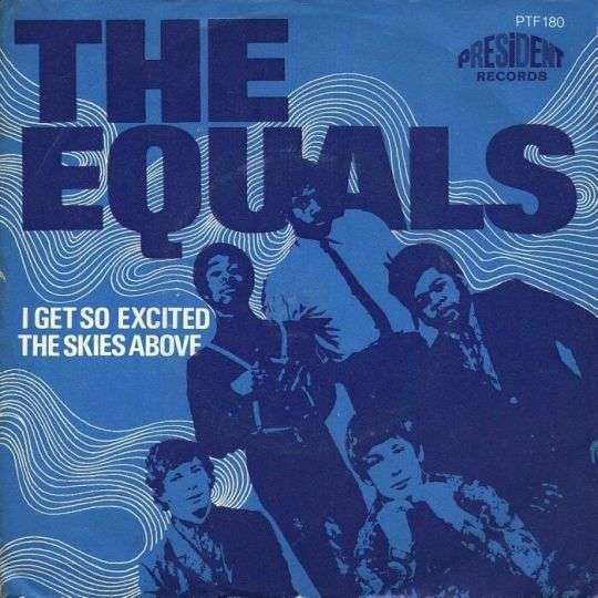 Coverafbeelding I Get So Excited - The Equals