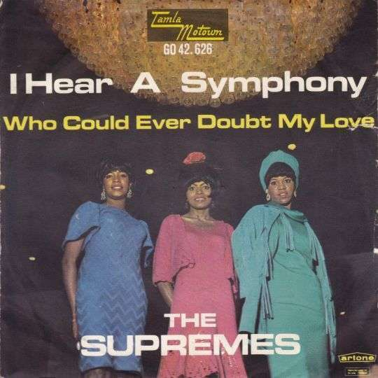 Coverafbeelding I Hear A Symphony - The Supremes