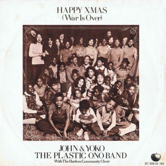 Coverafbeelding John Lennon & Yoko Ono - Happy Xmas (War Is Over)