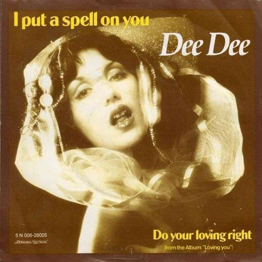 Coverafbeelding Dee Dee - I Put A Spell On You