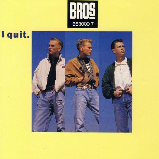 Coverafbeelding I Quit - Bros