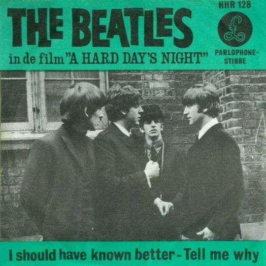 Coverafbeelding I Should Have Known Better - The Beatles