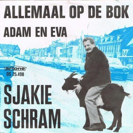 Coverafbeelding Allemaal Op De Bok - Sjakie Schram