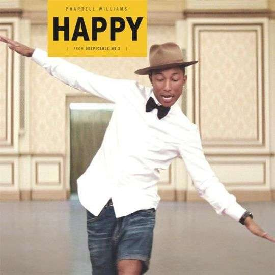 Coverafbeelding Pharrell Williams - Happy