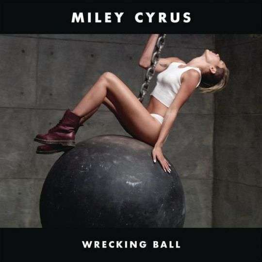 Coverafbeelding miley cyrus - wrecking ball