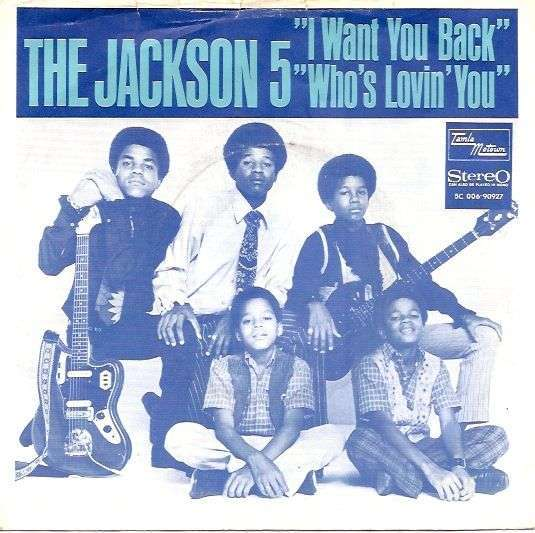 Coverafbeelding I Want You Back - The Jackson 5