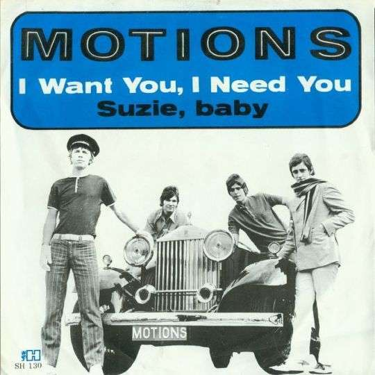Coverafbeelding I Want You, I Need You - Motions