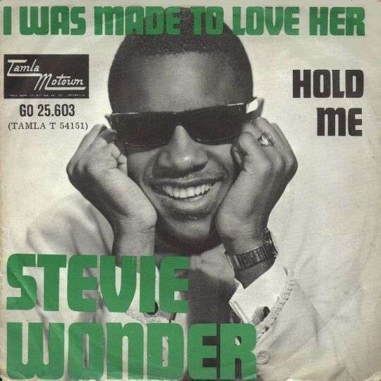 Coverafbeelding I Was Made To Love Her - Stevie Wonder