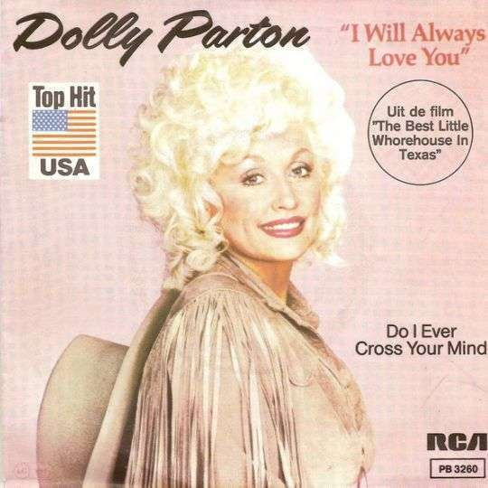 Coverafbeelding I Will Always Love You - Dolly Parton