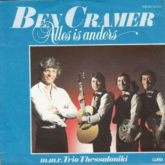 Coverafbeelding Ben Cramer m.m.v. Trio Thessaloniki - Alles Is Anders