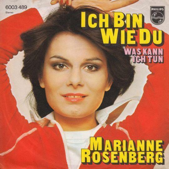 Coverafbeelding Marianne Rosenberg - Ich Bin Wie Du