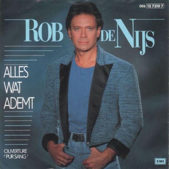 Coverafbeelding Alles Wat Ademt - Rob De Nijs