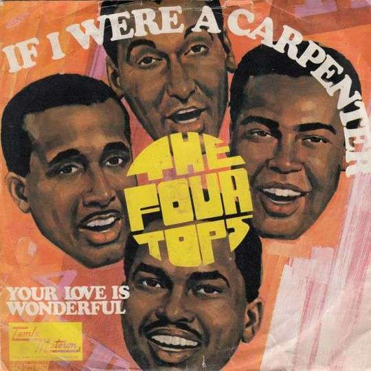 Coverafbeelding If I Were A Carpenter - The Four Tops