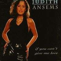 Coverafbeelding Judith Ansems - If You Can't Give Me Love