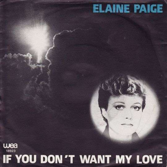Coverafbeelding If You Don't Want My Love - Elaine Paige