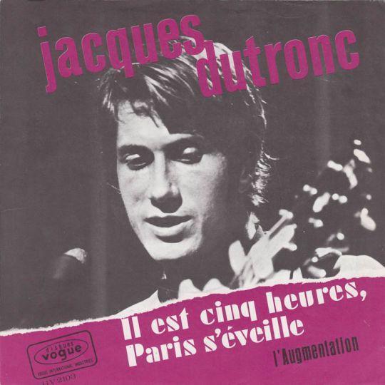 Coverafbeelding Jacques Dutronc - Il Est Cinq Heures, Paris S'éveille