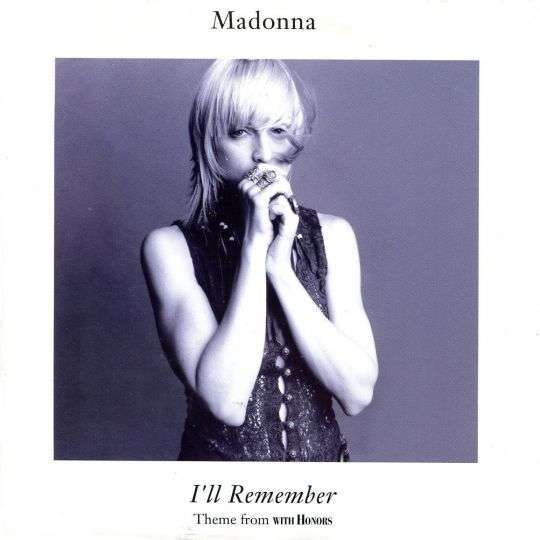 Coverafbeelding Madonna - I'll Remember - Theme From With Honors