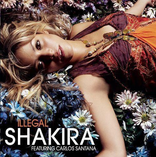 Coverafbeelding Illegal - Shakira Featuring Carlos Santana