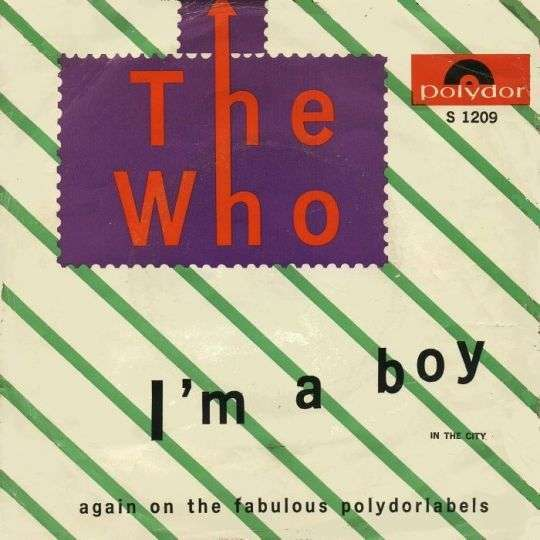 Coverafbeelding I'm A Boy - The Who