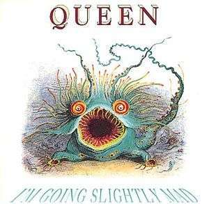 Coverafbeelding I'm Going Slightly Mad - Queen