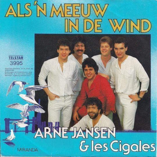 Coverafbeelding Als 'n Meeuw In De Wind - Arne Jansen & Les Cigales