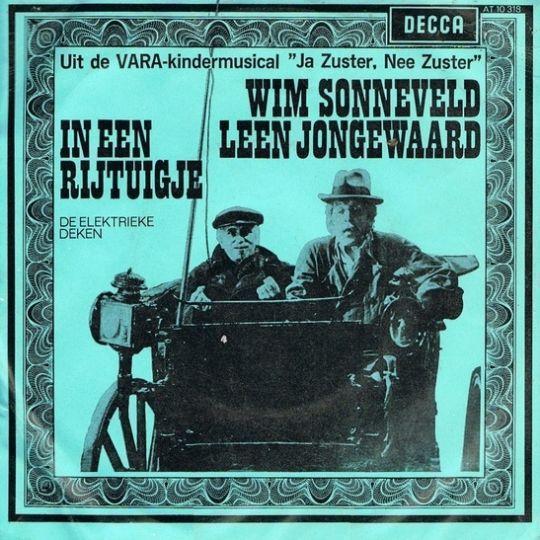 Coverafbeelding In Een Rijtuigje - Wim Sonneveld & Leen Jongewaard