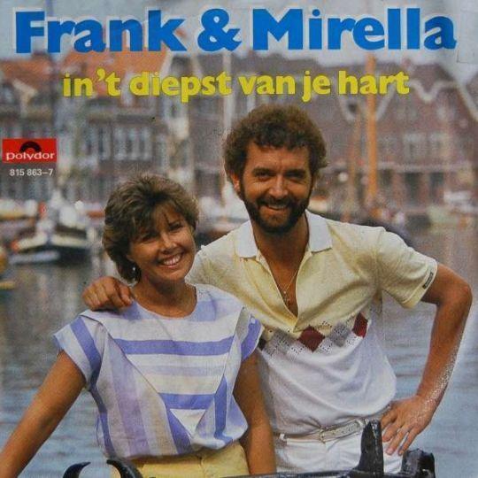 Coverafbeelding In 't Diepst Van Je Hart - Frank & Mirella